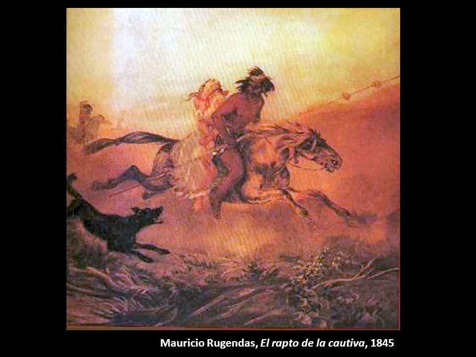 Mauricio Rugendas, El rapto de la cautiva, 1845