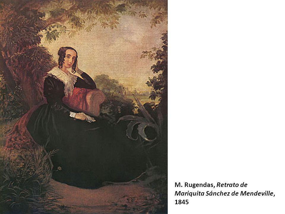 M. Rugendas, Retrato de Mariquita Sánchez de Mendeville,