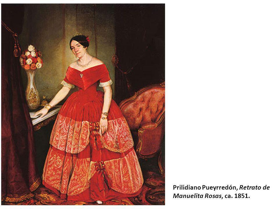 Prilidiano Pueyrredón, Retrato de