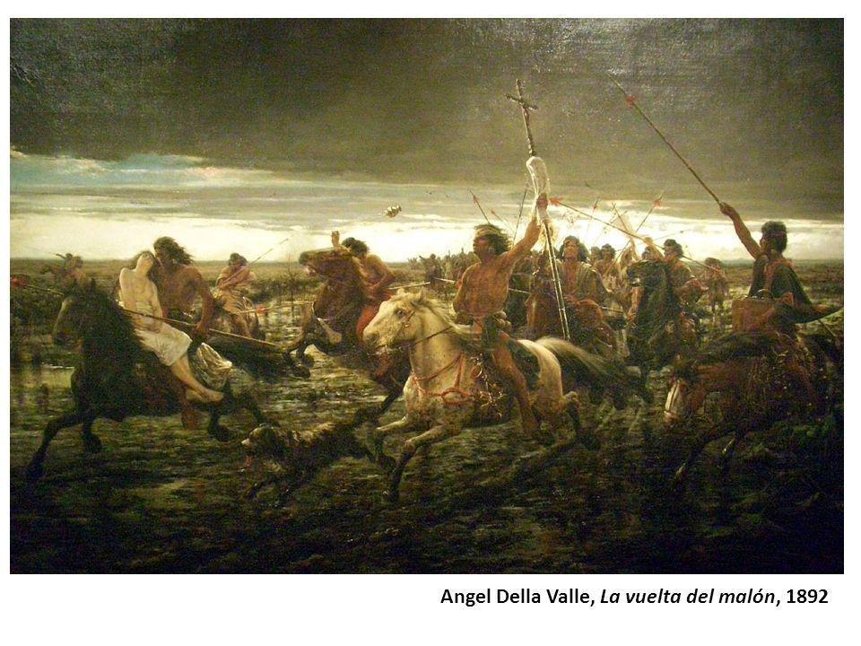 Angel Della Valle, La vuelta del malón, 1892