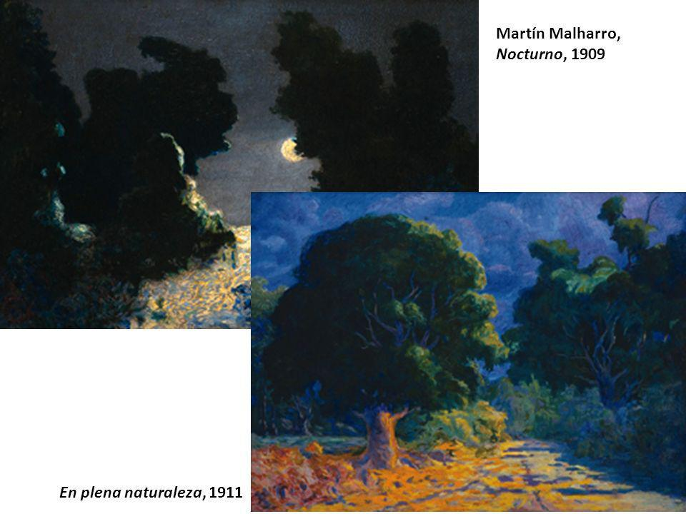 Martín Malharro, Nocturno, 1909