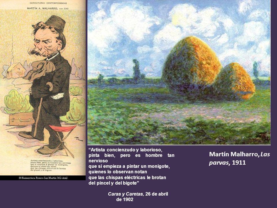 Martín Malharro, Las parvas, 1911