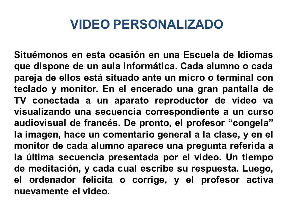 VIDEO PERSONALIZADO