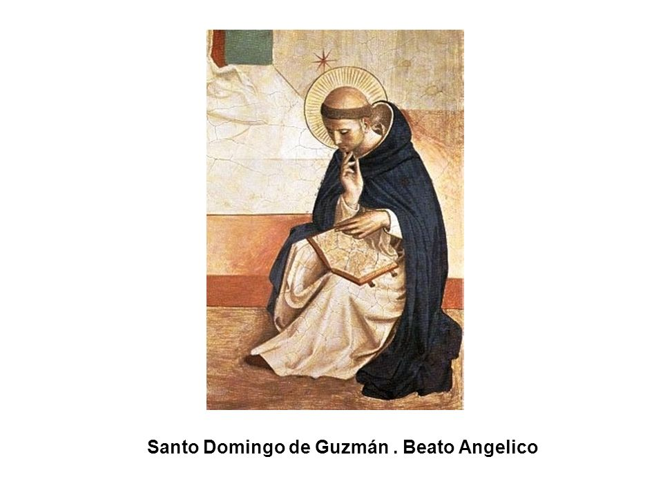 Santo Domingo de Guzmán . Beato Angelico