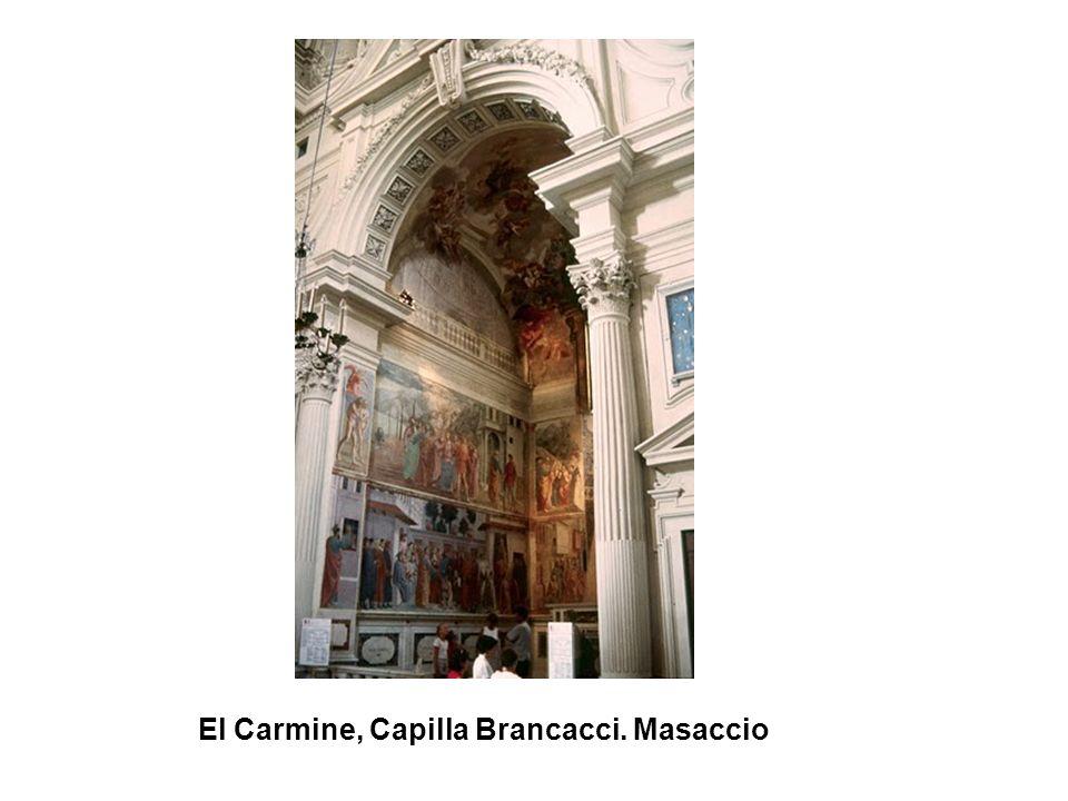 El Carmine, Capilla Brancacci. Masaccio