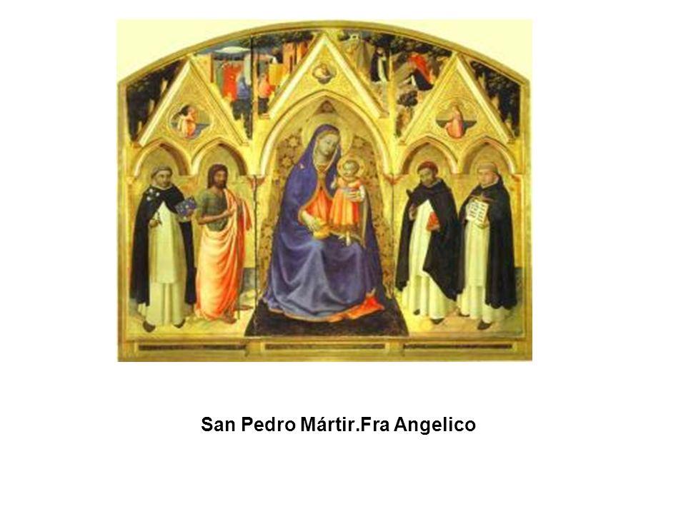 San Pedro Mártir.Fra Angelico