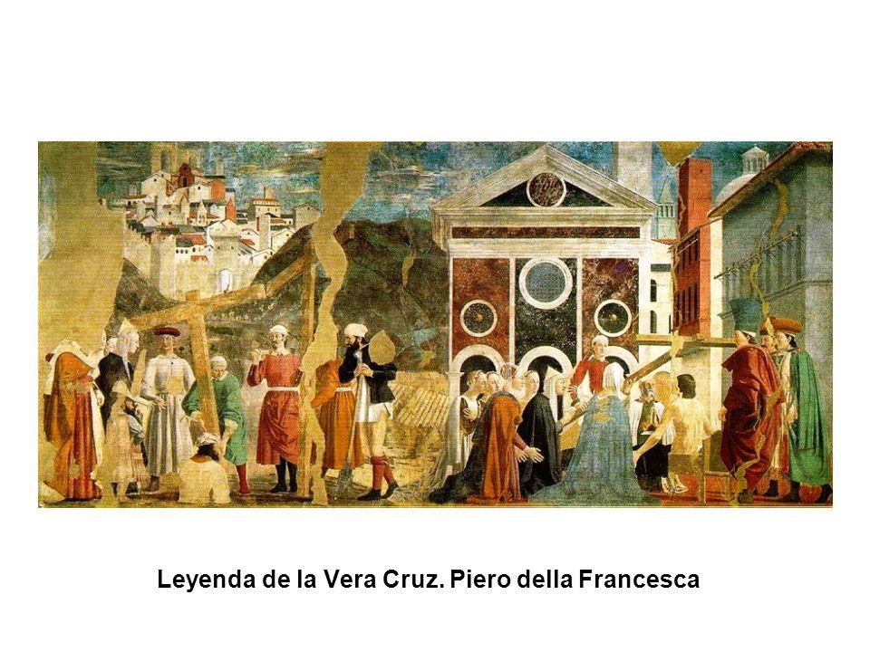 Leyenda de la Vera Cruz. Piero della Francesca