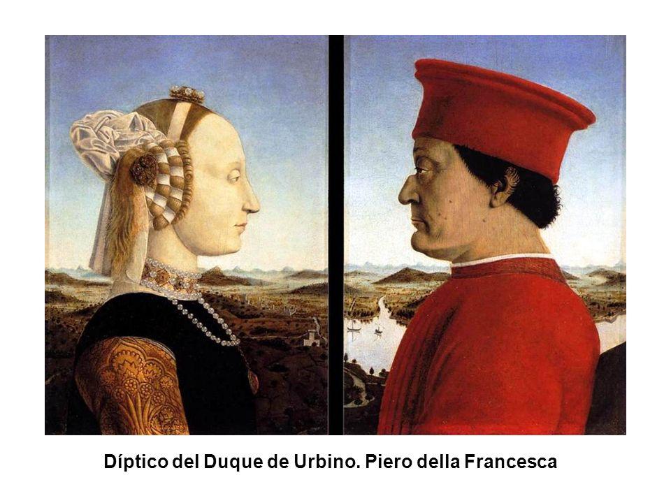 Díptico del Duque de Urbino. Piero della Francesca
