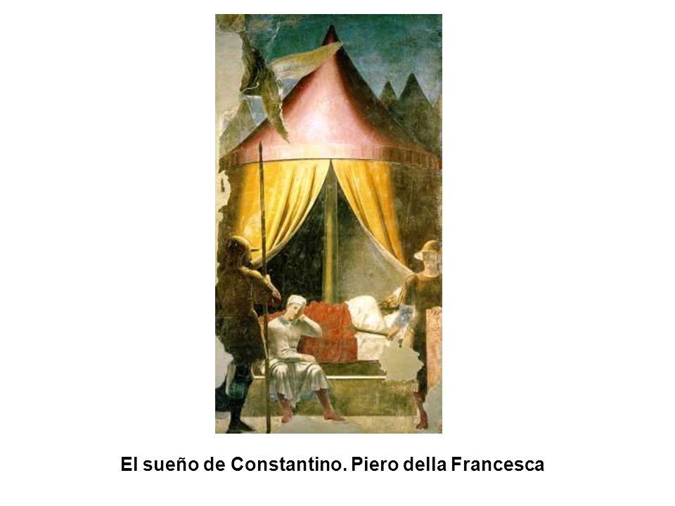 El sueño de Constantino. Piero della Francesca