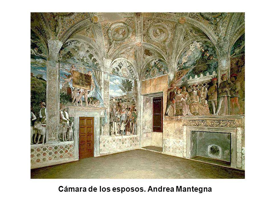 Cámara de los esposos. Andrea Mantegna