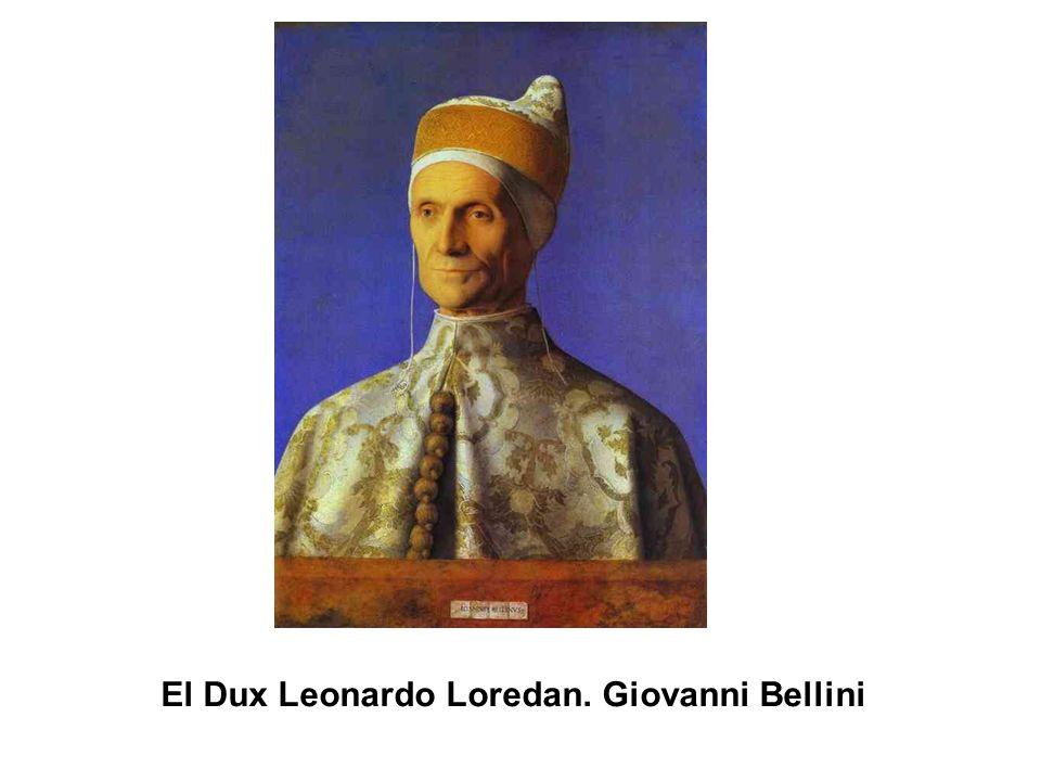 El Dux Leonardo Loredan. Giovanni Bellini
