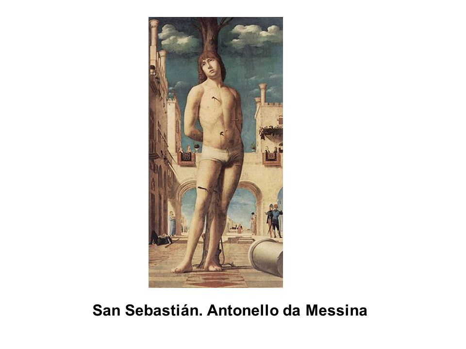 San Sebastián. Antonello da Messina