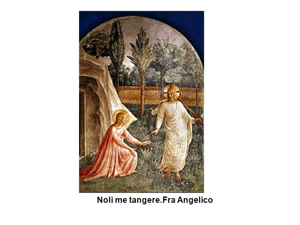 Noli me tangere.Fra Angelico