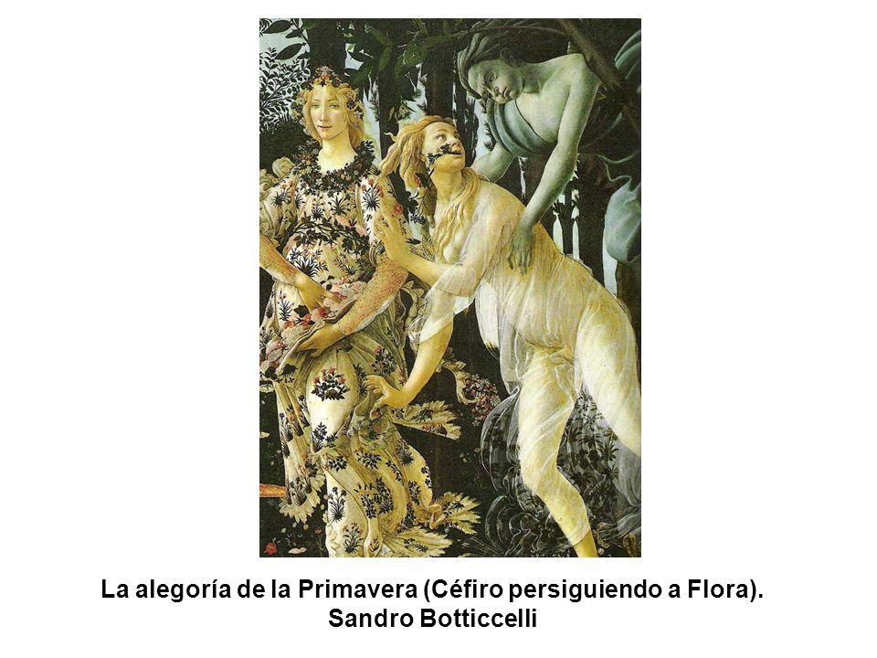 La alegoría de la Primavera (Céfiro persiguiendo a Flora)
