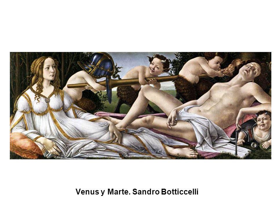 Venus y Marte. Sandro Botticcelli