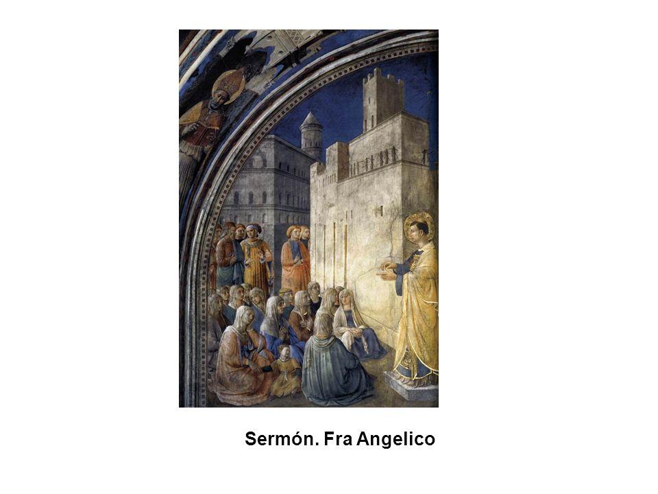 Sermón. Fra Angelico