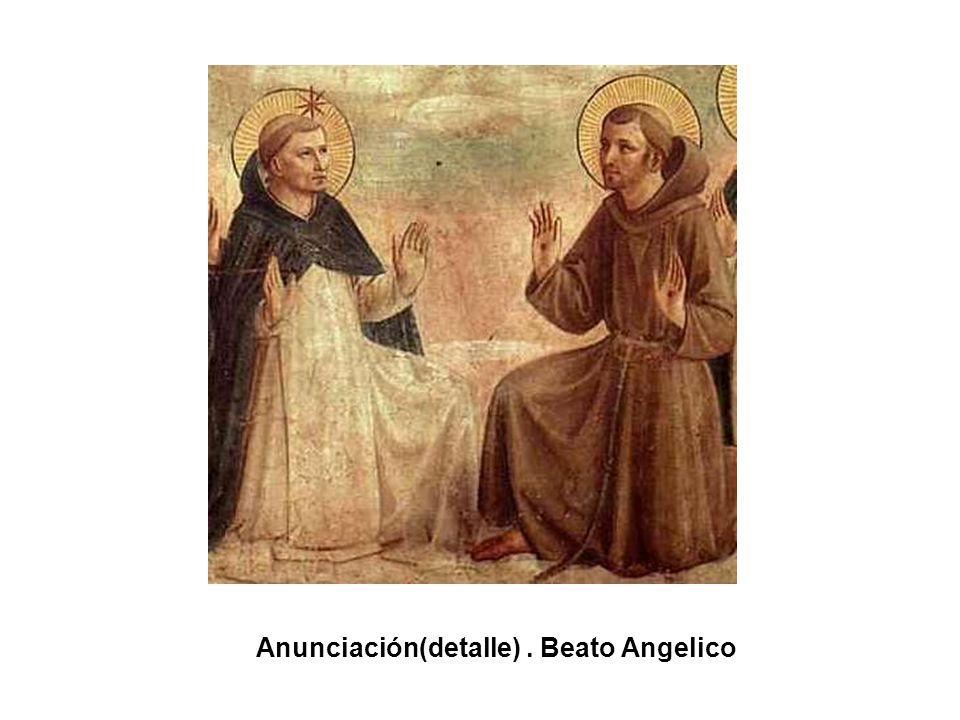 Anunciación(detalle) . Beato Angelico