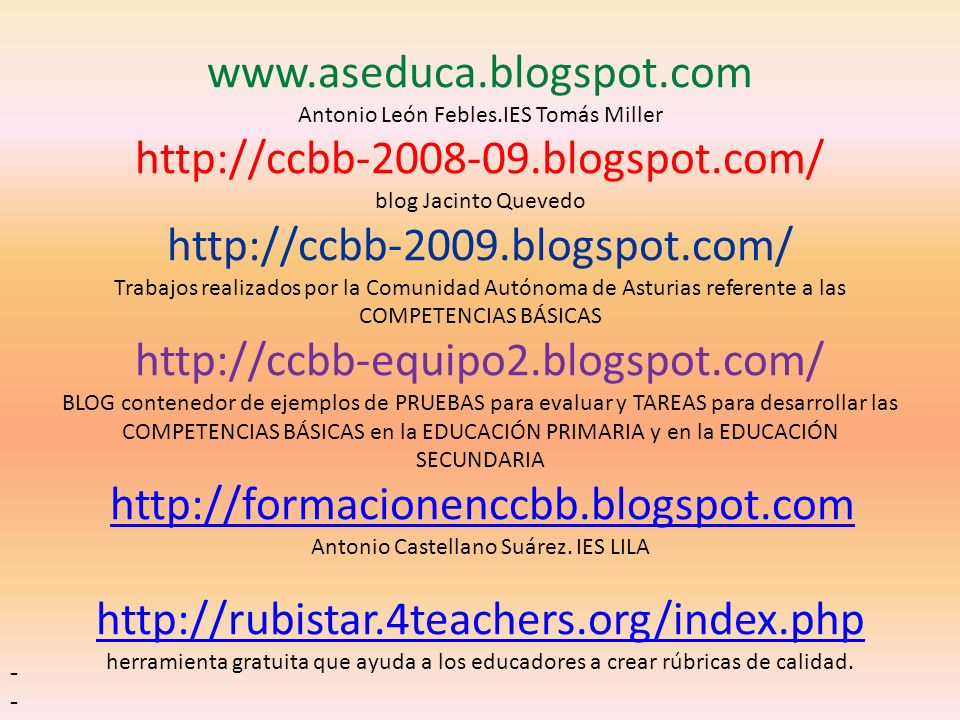www. aseduca. blogspot. com Antonio León Febles