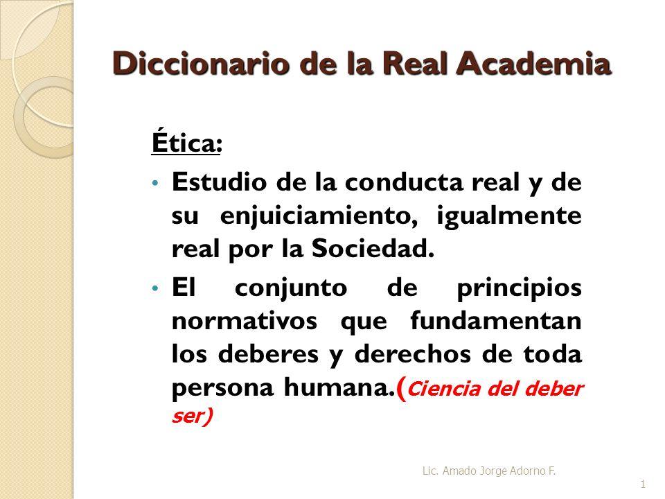 Diccionario de la Real Academia