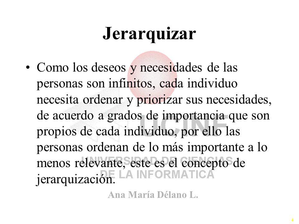Jerarquizar