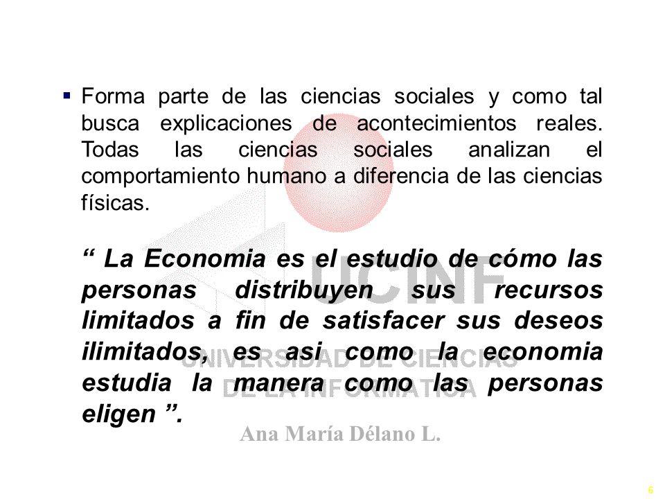El Definición de Economía
