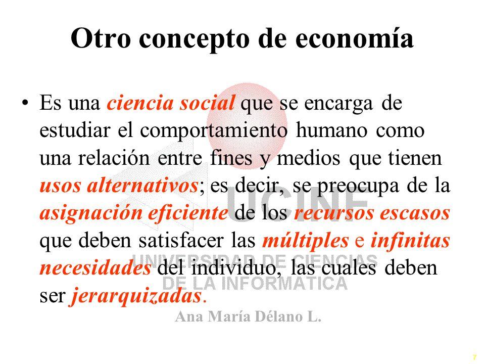 Otro concepto de economía