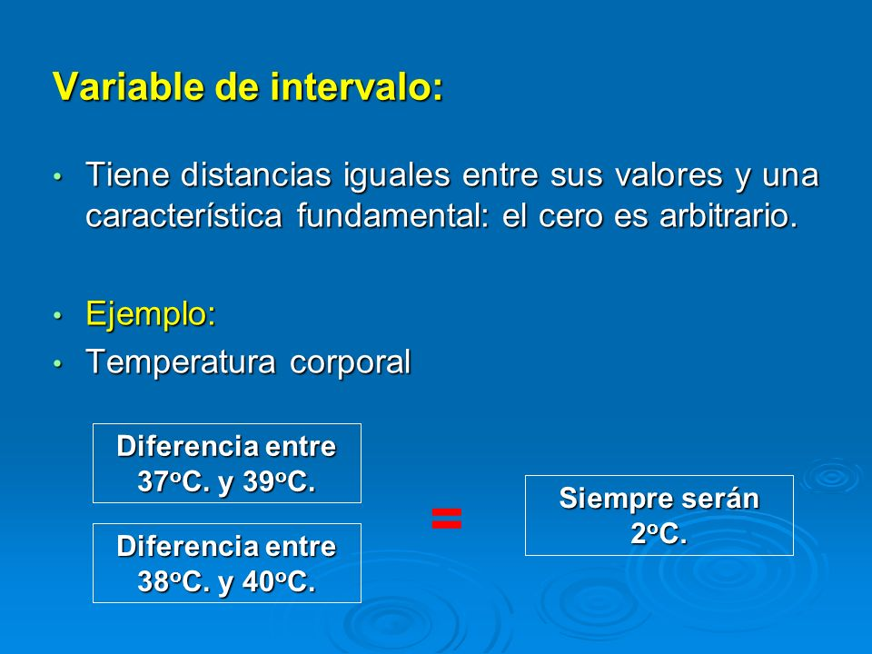 Variable de intervalo: