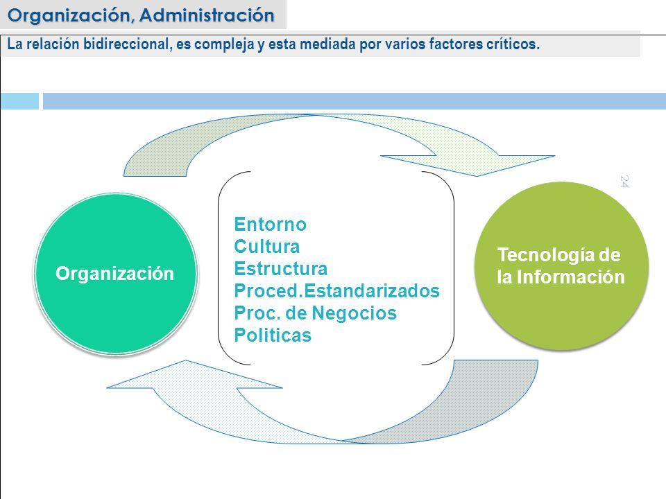 Tecnología de la Información Organización