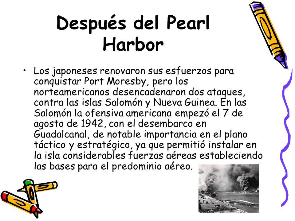 Después del Pearl Harbor