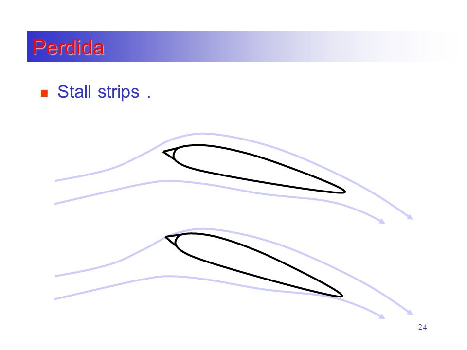 Perdida Stall strips .