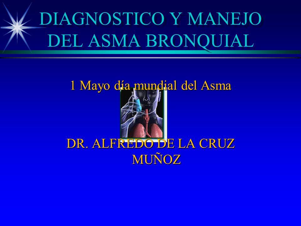 DIAGNOSTICO Y MANEJO DEL ASMA BRONQUIAL