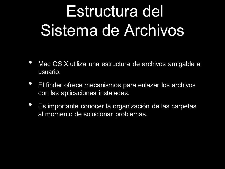 Estructura del Sistema de Archivos
