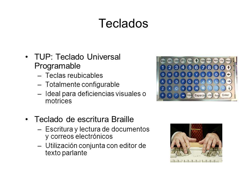 Teclados TUP: Teclado Universal Programable