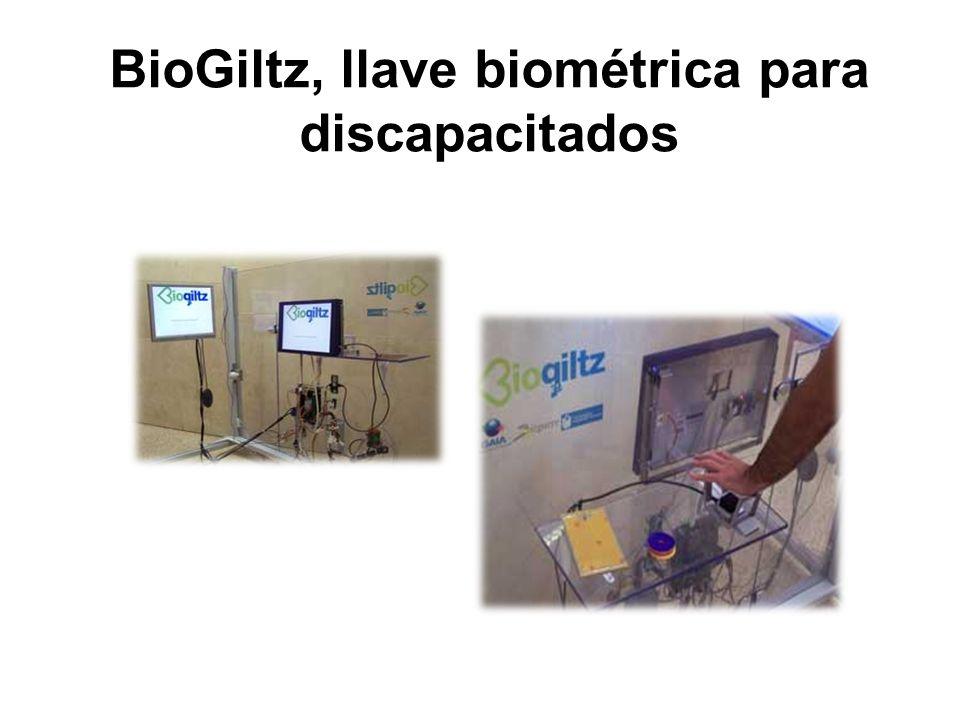 BioGiltz, llave biométrica para discapacitados