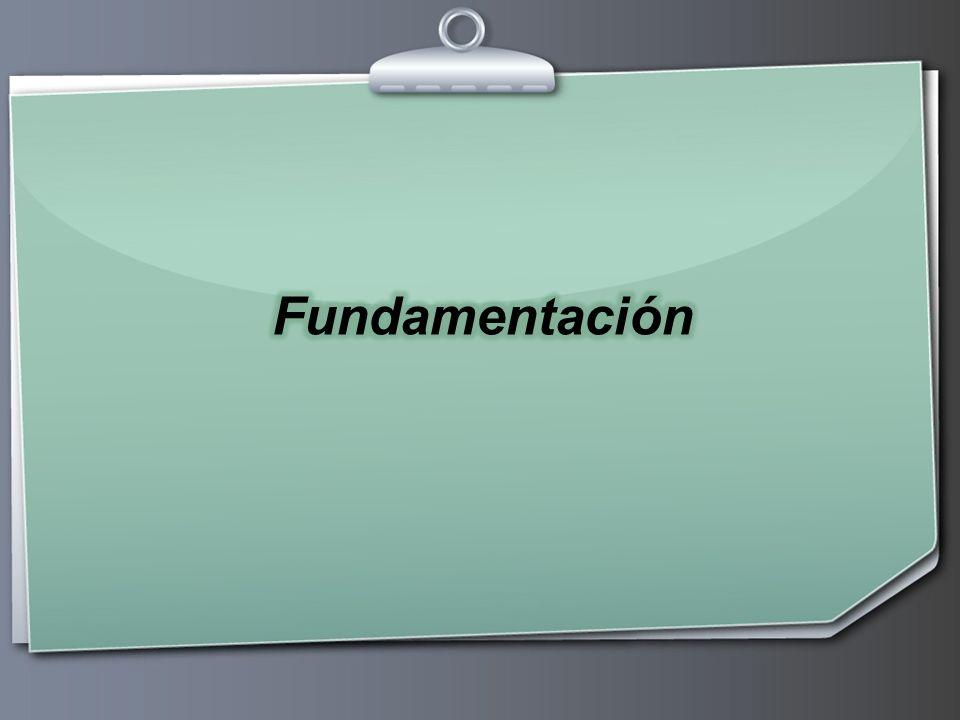 Fundamentación