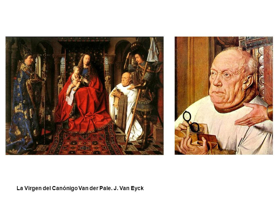 La Virgen del Canónigo Van der Pale. J. Van Eyck
