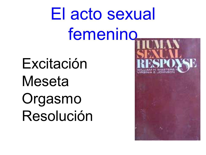 El acto sexual femenino