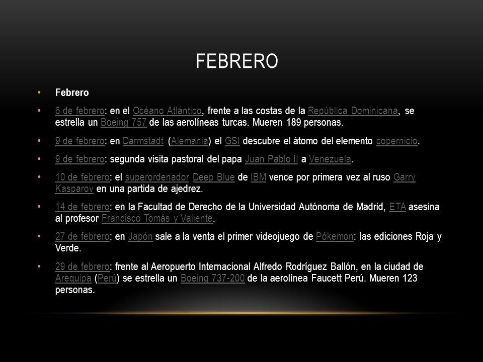 fEBREROFebrero.