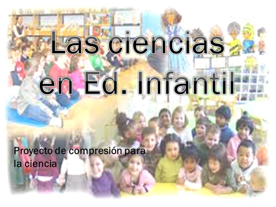 Las ciencias en Ed. Infantil
