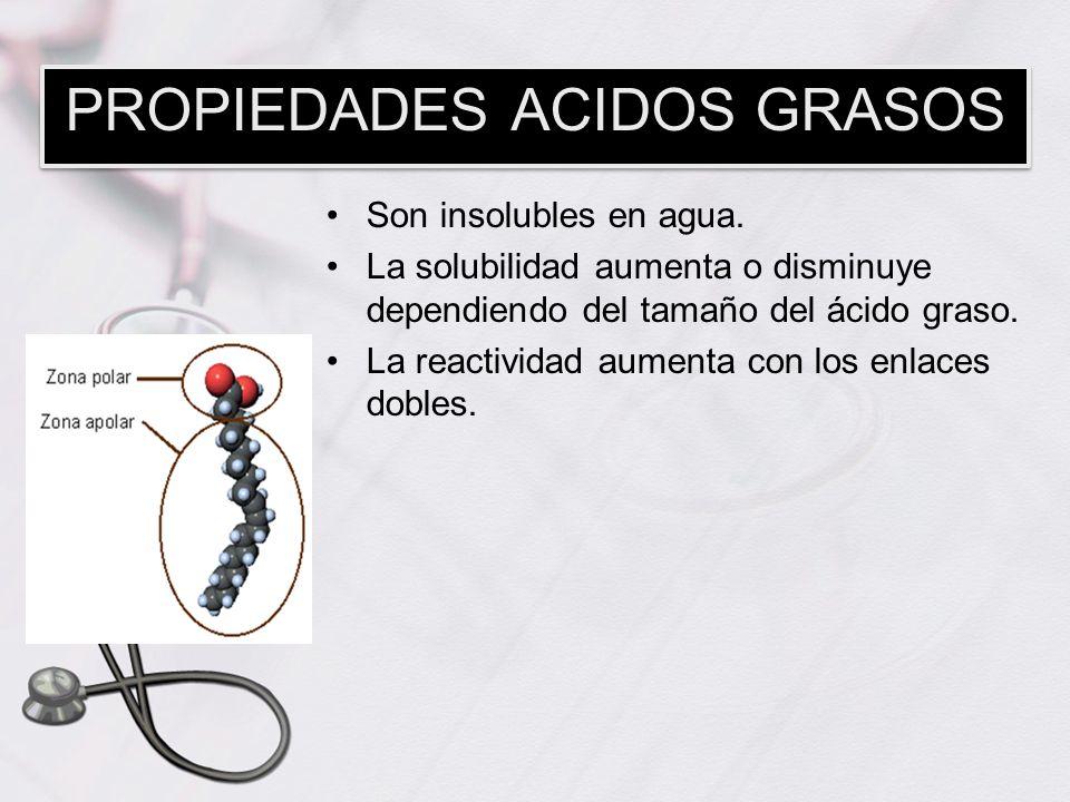 PROPIEDADES ACIDOS GRASOS
