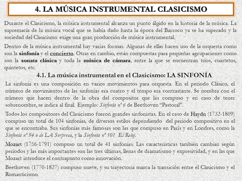 La m sica en el clasicismo ppt descargar - Epoca del clasicismo ...