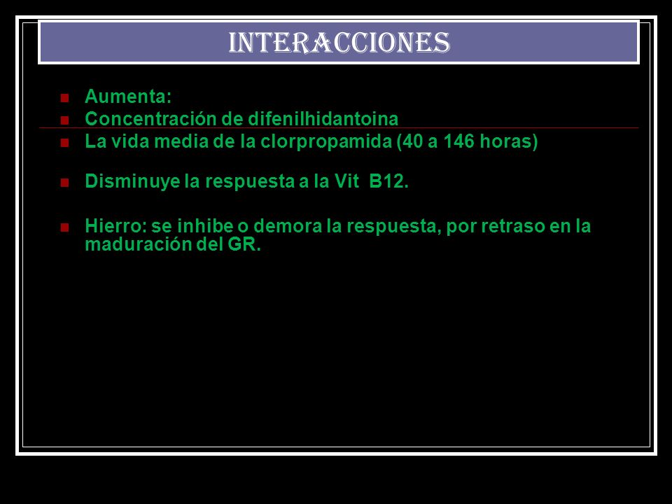 INTERACCIONES INTERACCIONES Aumenta: