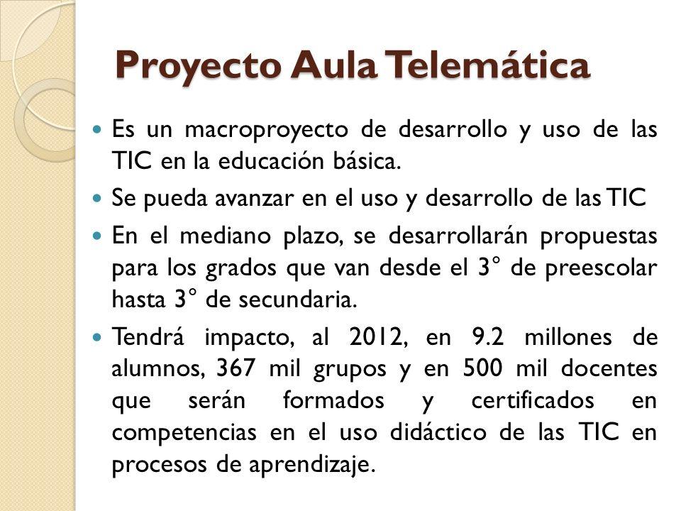Proyecto Aula Telemática