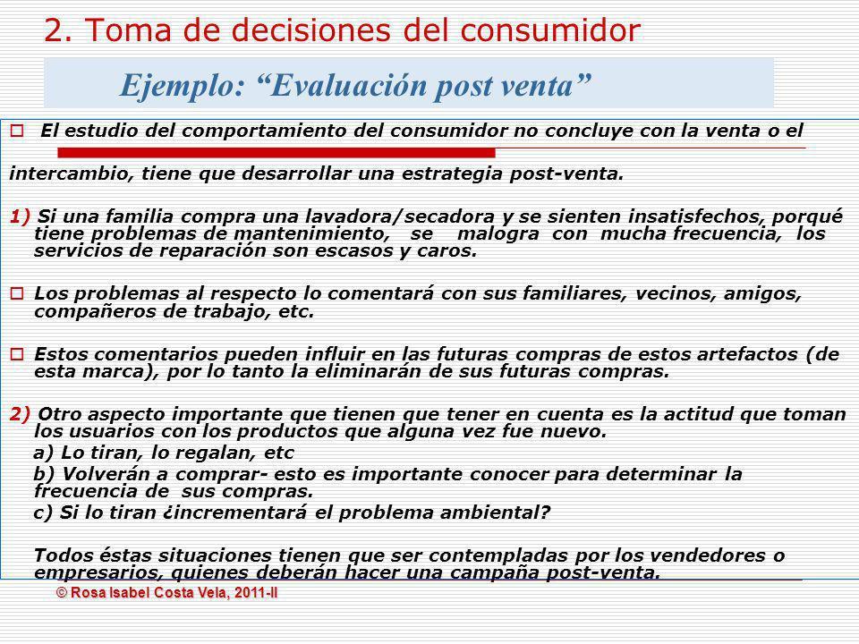 2. Toma de decisiones del consumidor