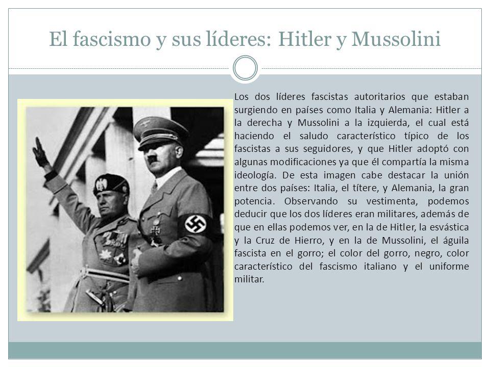 El fascismo y sus líderes: Hitler y Mussolini