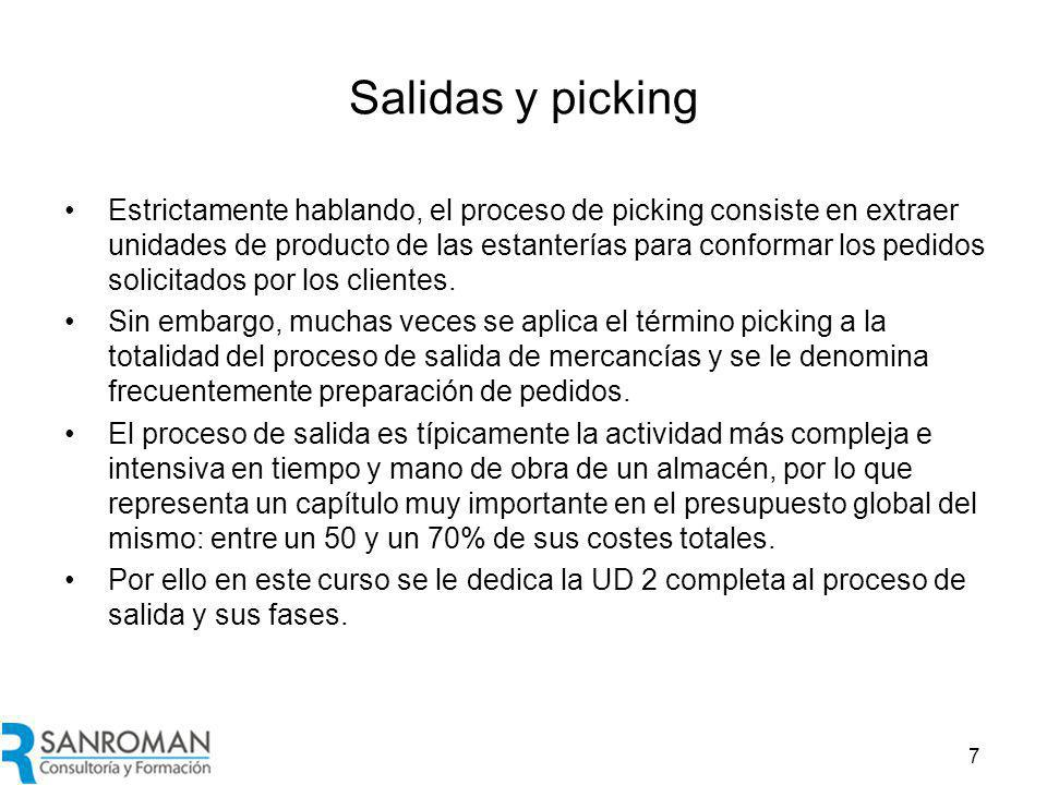 Tipología del picking
