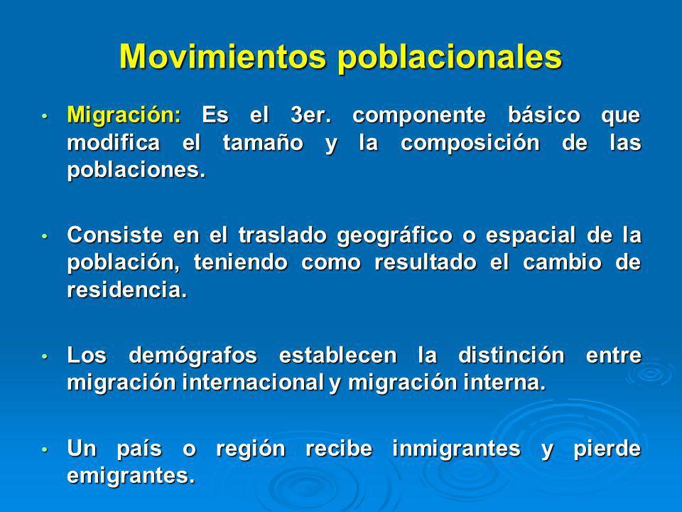Movimientos poblacionales