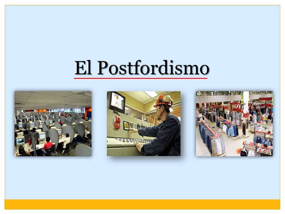 El Postfordismo