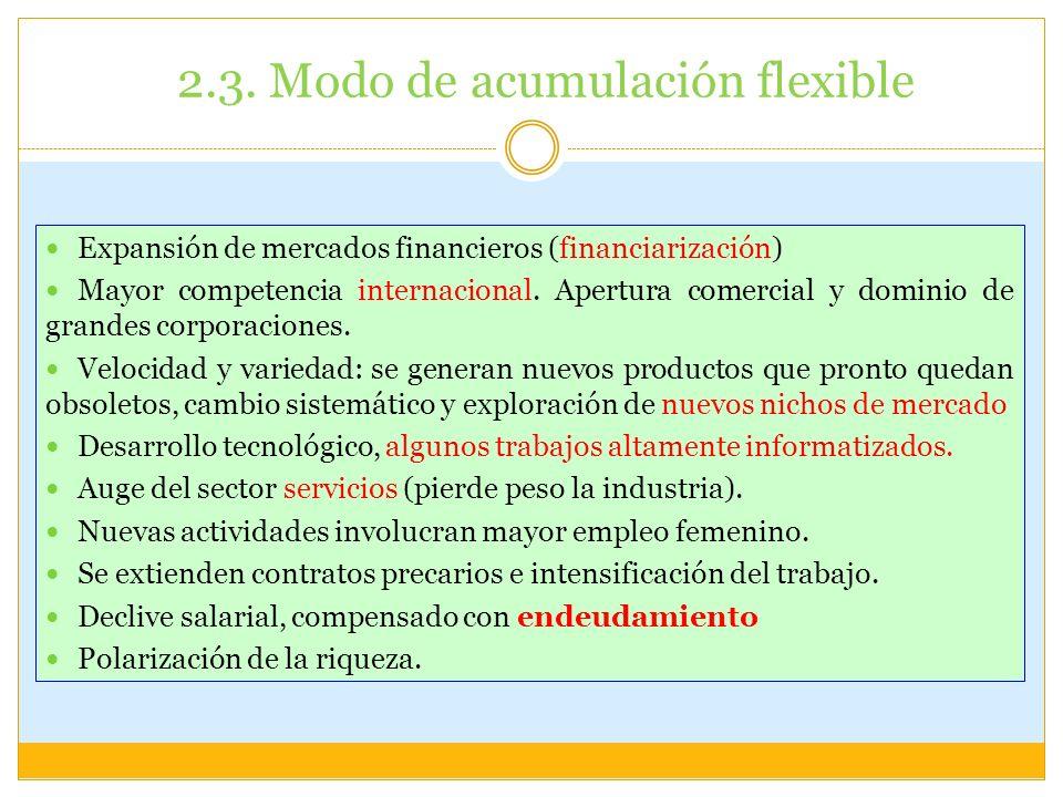 2.3. Modo de acumulación flexible