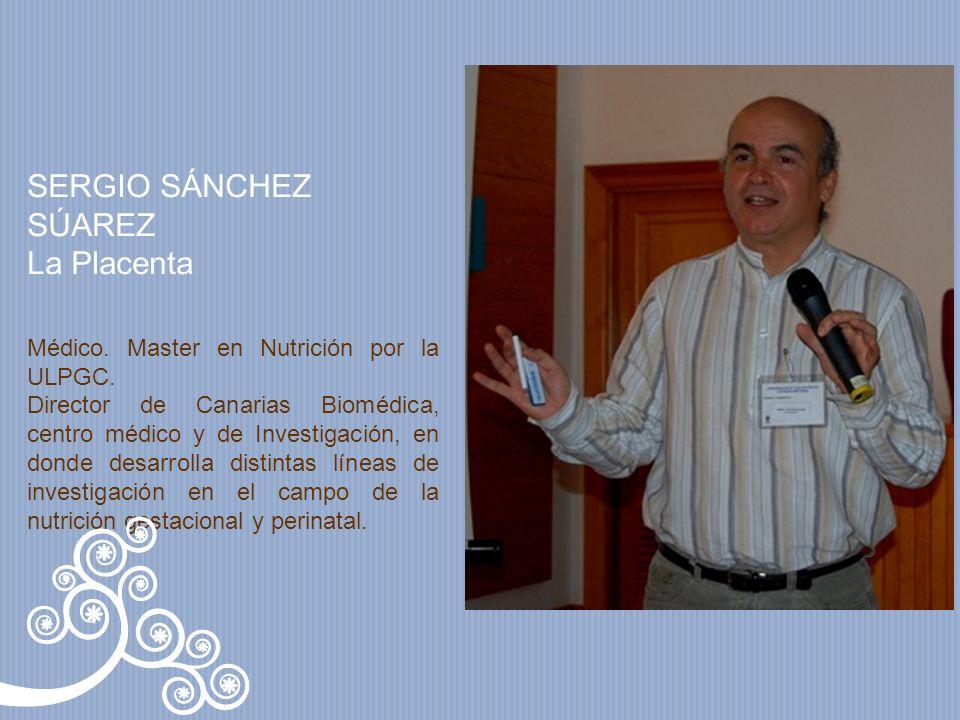 SERGIO SÁNCHEZ SÚAREZ La Placenta